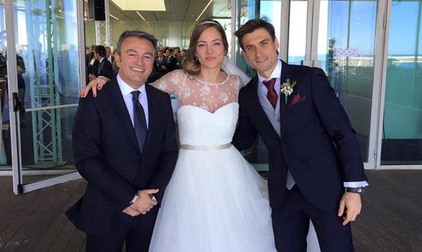 El romántico 'sí, quiero' de David Ferrer y Marta Tornel