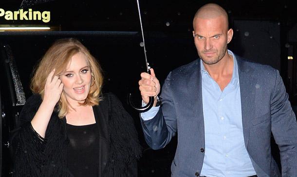 El guardaespaldas de Adele, el protector más deseado