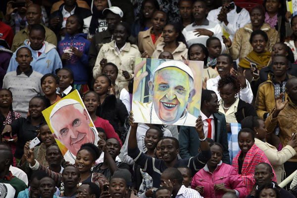 Las mejores imágenes de la visita apostólica del Papa Francisco a África