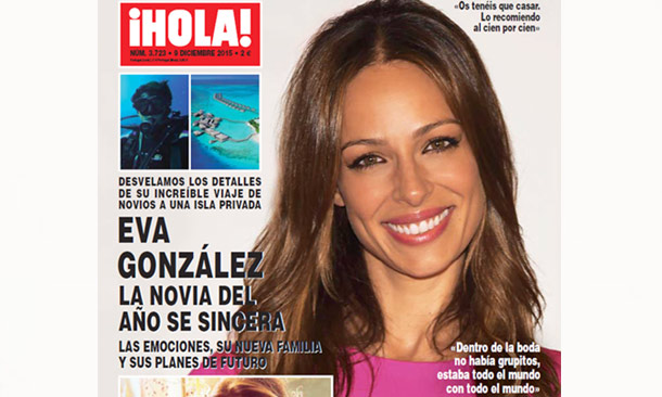 Eva González, la novia del año se sincera