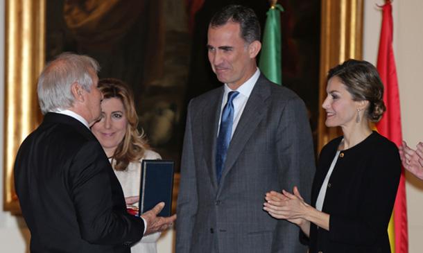 El encuentro de Francisco Rivera y Lourdes Montes con los Reyes