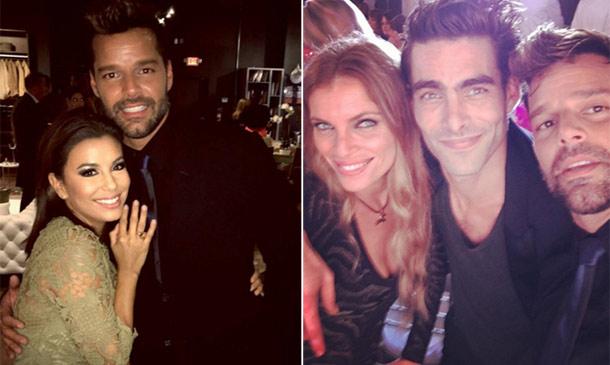 ¿Qué hacen juntos Eva Longoria, Ricky Martin y Esther Cañadas en Miami?