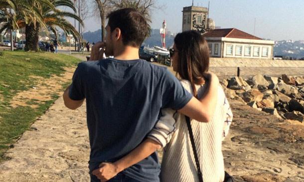Los 'días bonitos' de Sara e Iker con el pequeño Martín