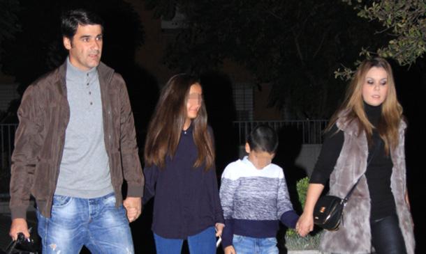 Jesulín de Ubrique y María José Campanario conocen a su nuevo sobrino