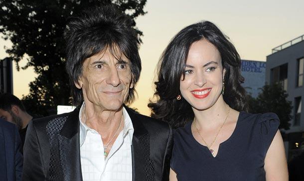 Ronnie Wood, componente de los Rolling Stones, va a ser padre de gemelos a sus 68 años