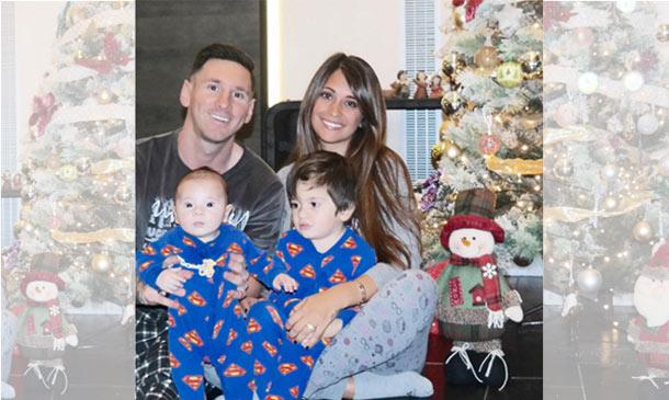 ¡Por fin! Leo Messi posa con su hijo Mateo, ¿quieres conocerle?