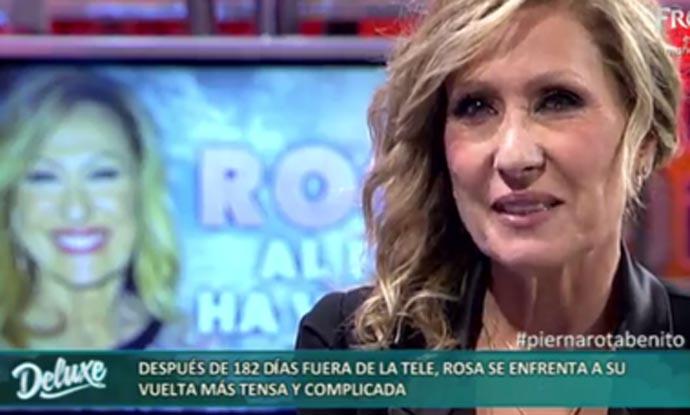 Rosa Benito lo cuenta todo: su marcha de televisión, su relación con Amador Mohedano...