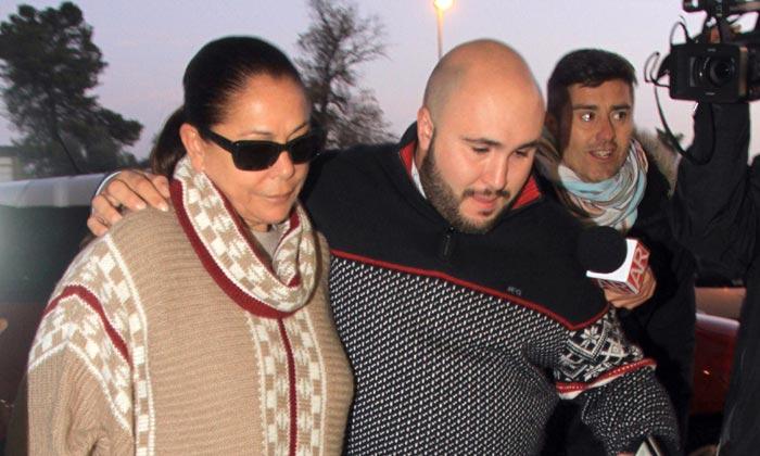 Isabel Pantoja, su hija Isa y su nieto Alberto conocen a Ana
