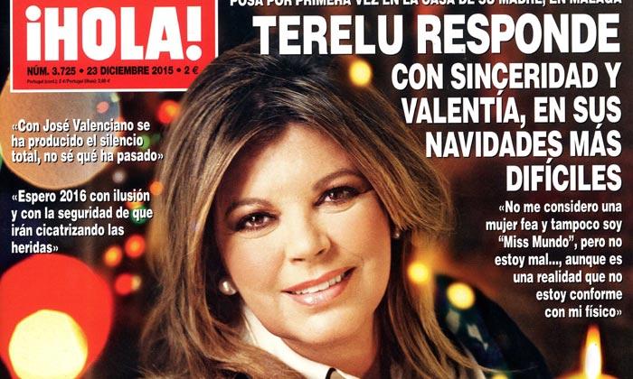 En ¡HOLA!: Terelu Campos responde con sinceridad y valentía en sus navidades más difíciles