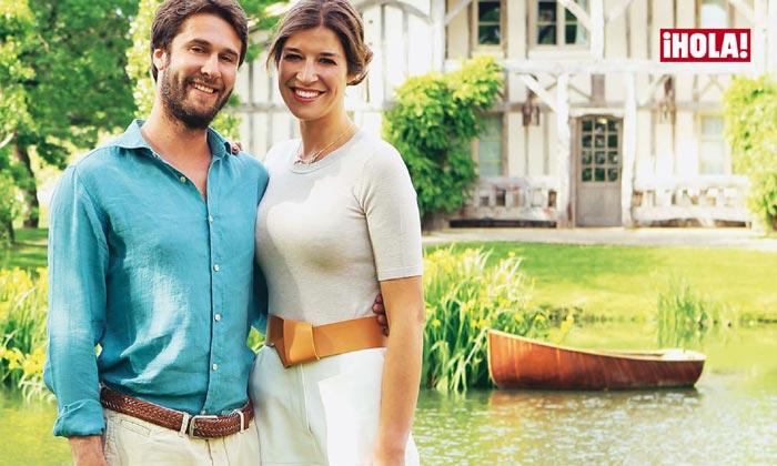 Cynthia Rossi y Benjamin Rouget ya son marido y mujer