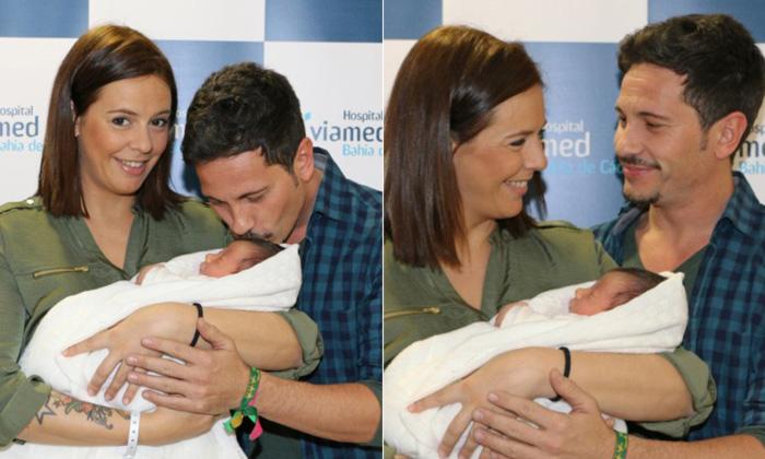 David de María y Lola Escobedo ya están en casa con el pequeño Leonardo