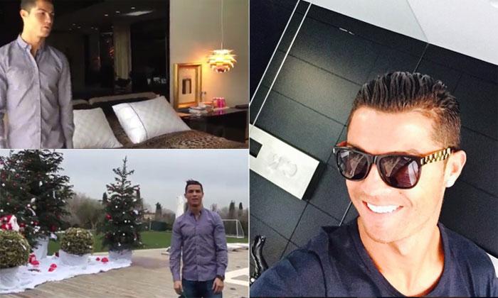 ¡Pasen y vean!, Cristiano Ronaldo enseña su casa