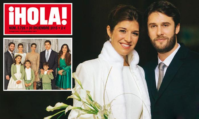 Exclusiva en ¡HOLA!: Romántica, familiar y muy chic, la boda de Cynthia Rossi en París