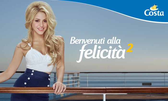 Shakira se embarca en un nuevo proyecto de la mano de Costa Cruceros