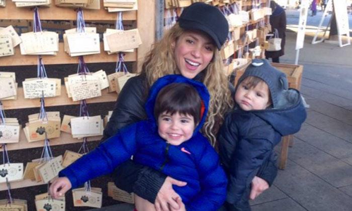 Milan y Sasha, los 'dos deseos hechos realidad' de Shakira