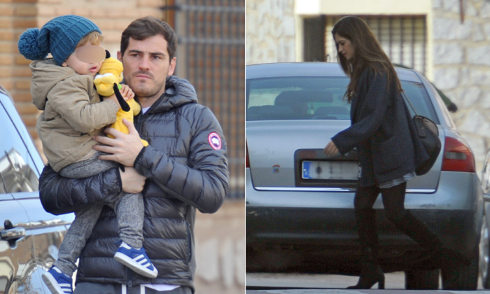 Iker Casillas y Sara Carbonero regresan a Oporto tras una feliz Nochebuena en familia
