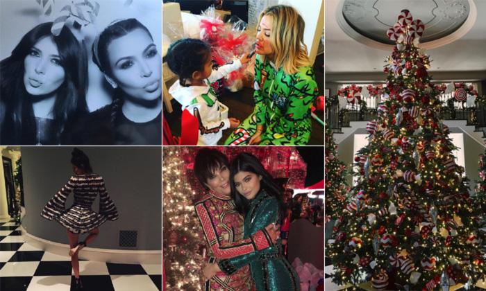 Navidades 'made in' Kardashian... así celebra el clan estas fiestas