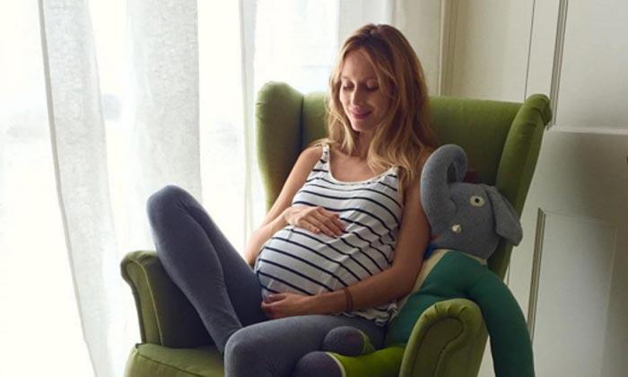 Vanesa Lorenzo vive así sus últimas semanas de embarazo