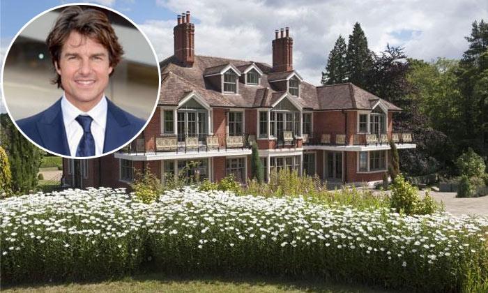Tom Cruise vende su casa en Reino Unido: te mostramos la impresionante mansión