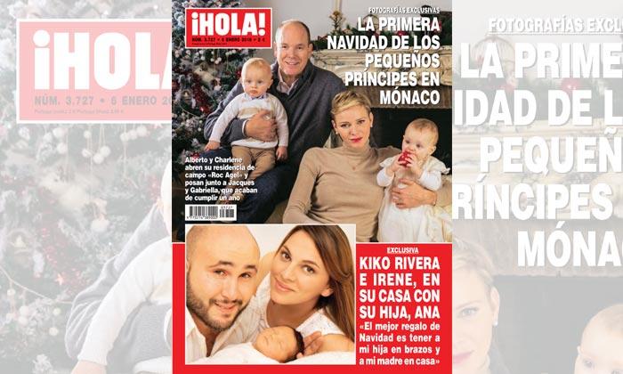 Exclusiva en ¡HOLA!, Kiko Rivera e Irene, en su casa con su hija Ana