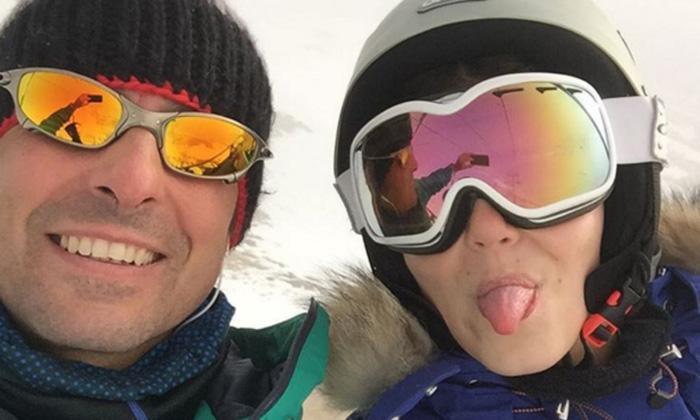 Francisco Rivera se escapa a la nieve con su hija Cayetana