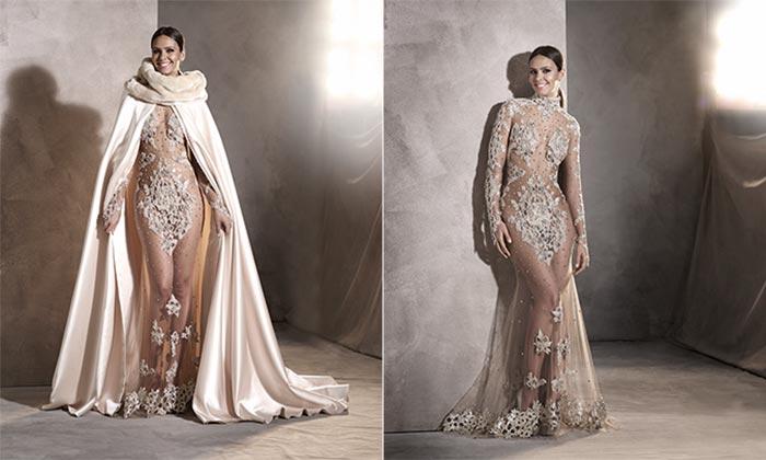 Todos los detalles del inolvidable vestido de Cristina Pedroche en las campanadas
