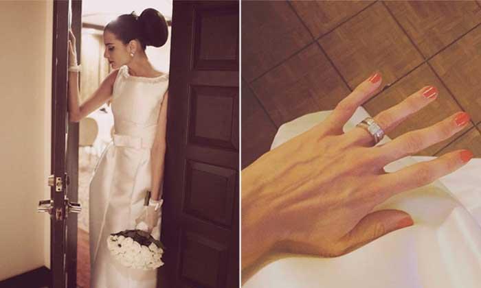 ¡Ahora sí! Natalia Jiménez, exvocalista de La Quinta Estación, se ha casado
