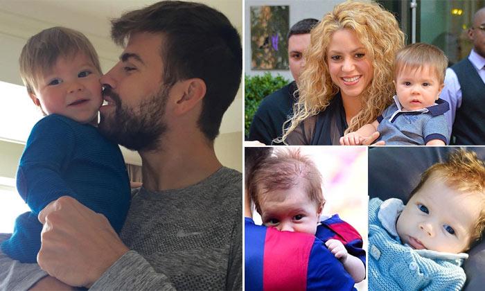 ¡Cómo ha crecido! Sasha Piqué, el niño con el que Shakira 'se derrite'