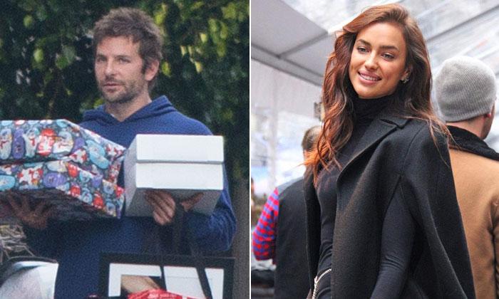 Irina Shayk cumple 30 años… y Bradley Cooper se pasea cargado de regalos