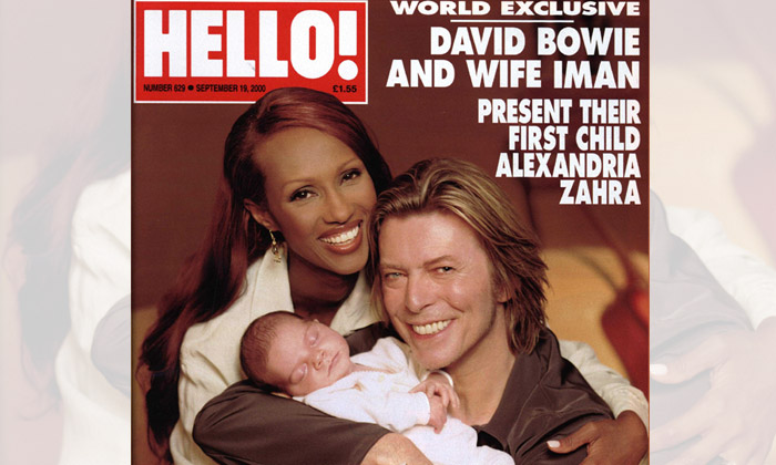 David Bowie compartió dos de los momentos más emocionantes de su vida con HELLO!