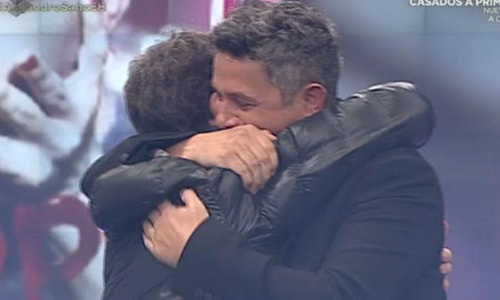 El gran gesto de Alejandro Sanz con Pablo Motos tras la muerte de su padre