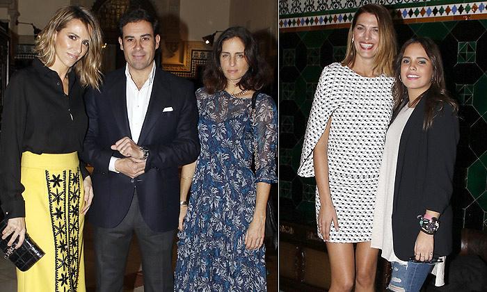 Laura Vecino, Carolina Herrera, Lourdes Montes, Gloria Ortega... reunidas en la gran cita con la moda flamenca