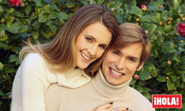 Carlos Baute y Astrid Klisans eligen ¡HOLA! para anunciar que van a ser padres