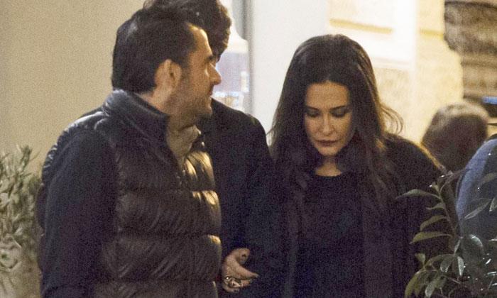 Vicky Martín Berrocal y Emiliano Suárez, juntos en Madrid