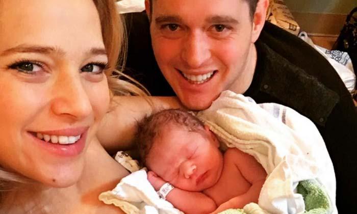 '¡Ahora somos 4!' Michael Bublé y Luisana Lopilato dan la bienvenida a su segundo hijo