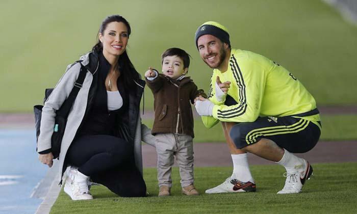 Pilar Rubio y Sergio Ramos muestran que su hijo es todo un campeón