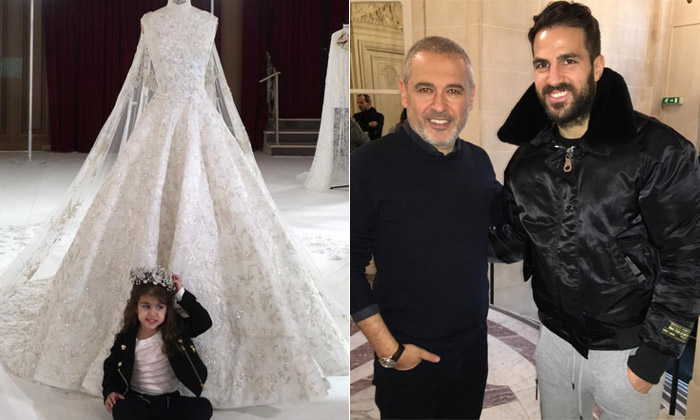 ¿Lía Fábregas está aprendiendo de moda o es Daniella Semaan la que elige vestido de novia?