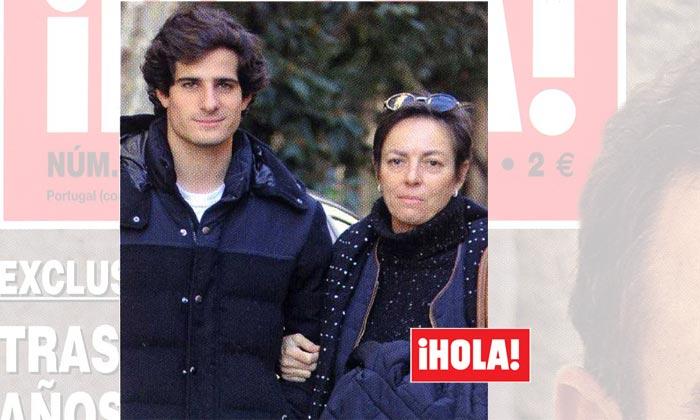 En ¡HOLA!, Fernando Fitz-James, apoyo y orgullo de su madre en su primera imagen como Duque de Huéscar