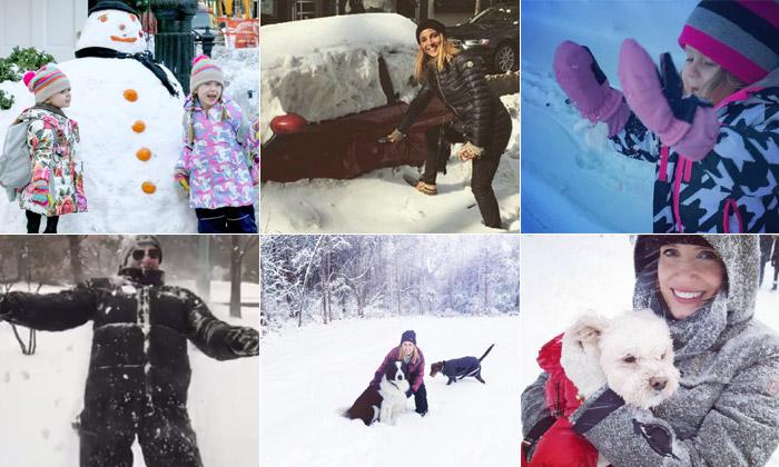 'Let it snow!' o cómo sacar el lado bueno a una tormenta de nieve
