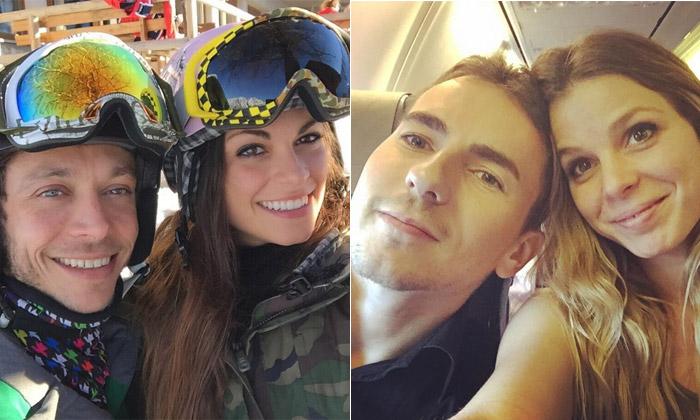 El otro 'duelo' de Valentino Rossi y Jorge Lorenzo, el de sus novias