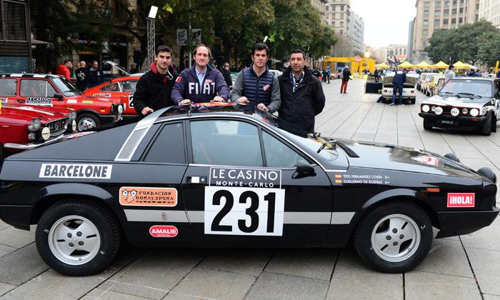 Guillermo de Dueñas corre el Rallye Monte-Carlo Historique con el apoyo de ¡HOLA! y por una buena causa