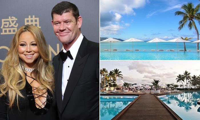 Mariah Carey y James Packer: la lujosa isla australiana que podría ser testigo del 'sí, quiero'
