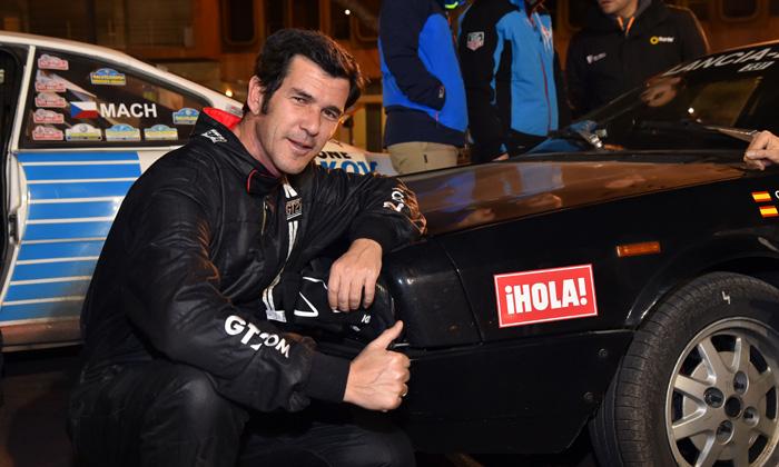 Guillermo de Dueñas completa la segunda etapa del Rallye Monte-Carlo Historique con el apoyo de ¡HOLA!