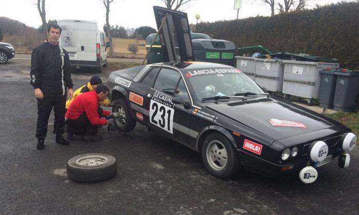 Guillermo de Dueñas afronta, con el apoyo de ¡HOLA!, la última etapa del Rallye Monte-Carlo Historique