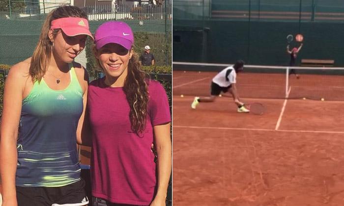 ¿Ha cambiado 'Shakirova' la música por el tenis?