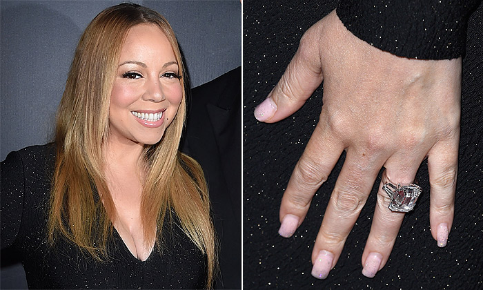 El anillo de Mariah Carey en exclusiva: 35 quilates y un valor de 7 millones de euros