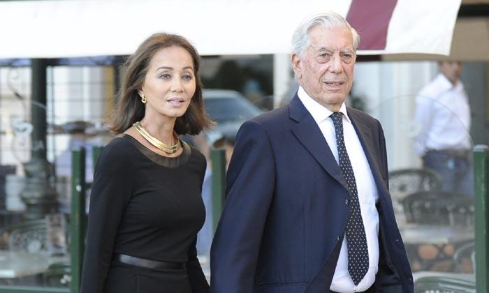 Isabel Preysler y Mario Vargas Llosa asisten a la presentación de un libro, dedicado a Miguel Boyer