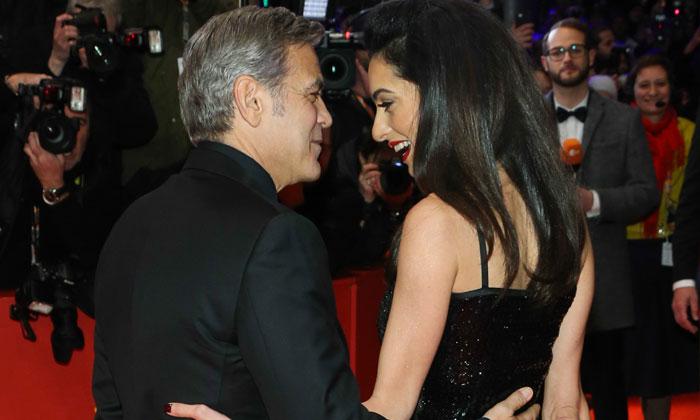 ¡Ave, Clooney! George y Amal, puro 'glamour' en la Berlinale