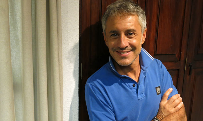 Sergio Dalma, más sincero que nunca: 'Estos últimos tiempos no han sido buenos para mí como padre'