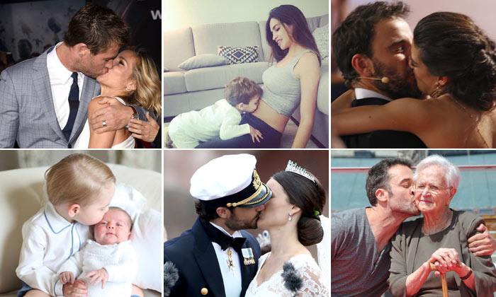 El beso más bonito para los lectores de HOLA.com es...